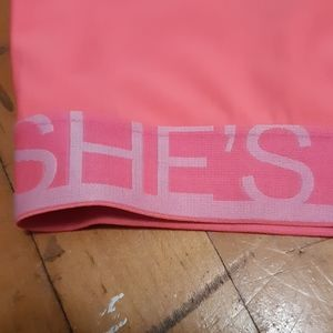 Under Armour Tops - Under armour, breast cancer awareness, sports bra